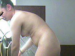 すっぴん熟女の裸体覗き15